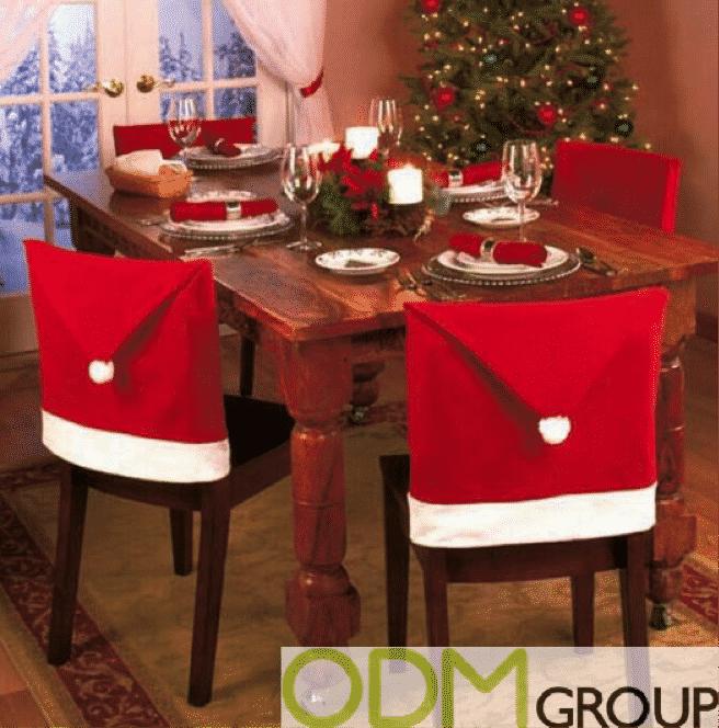 Santa Chair Covers for Christmas Promo