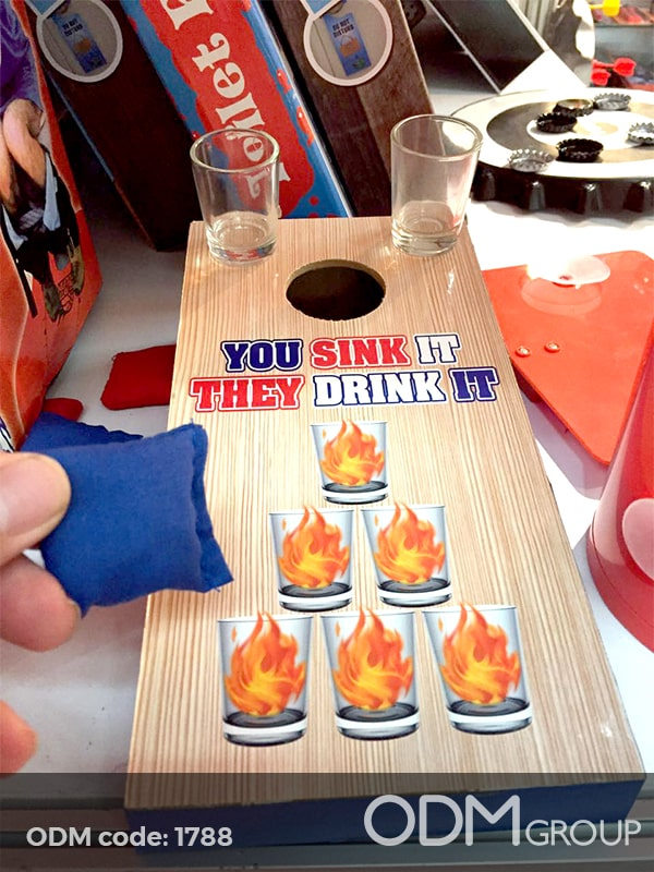 Summer Promo Idea – Mini Drinking Toss Game