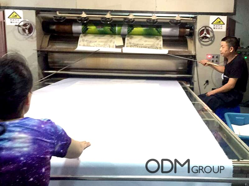 Sublimation Printing - Fleece Blankets Manufacturing in China