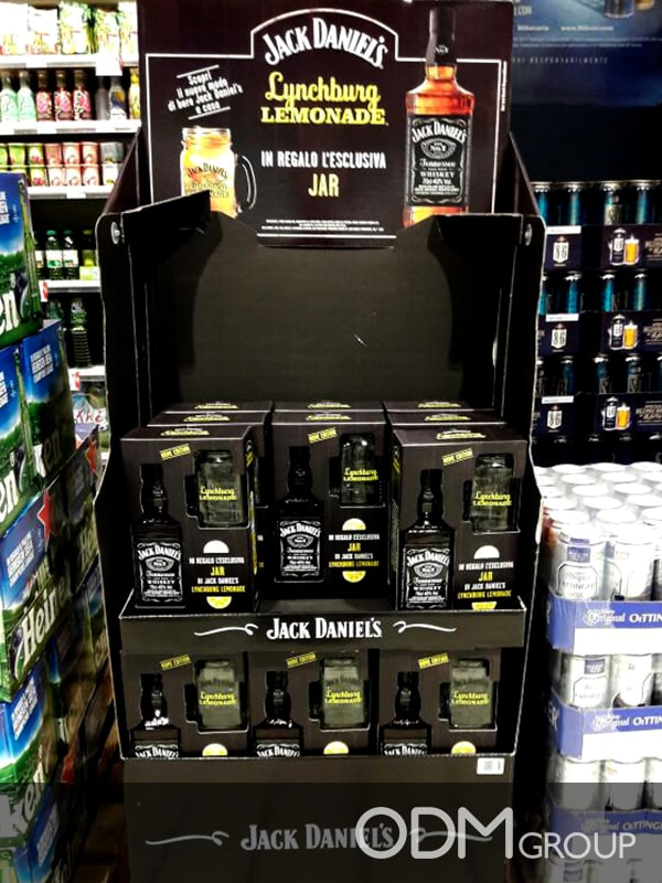 Branded Jar - Jack Daniel's GWP Idea for Drink Industry