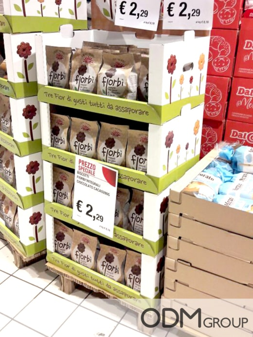 Cardboard POS Displays - 6 Fantastic Ideas from Italy