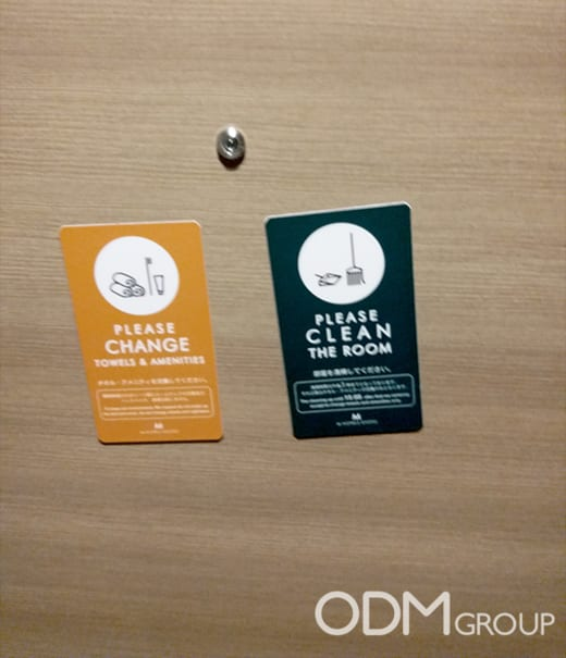 Custom Amenities - Clever Door Magnet by Hotel M's Plus