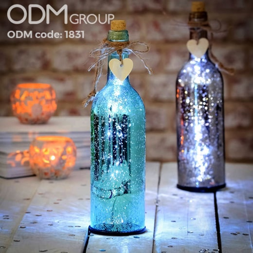 Custom LED Bottles to Light Up Your Christmas Promotion