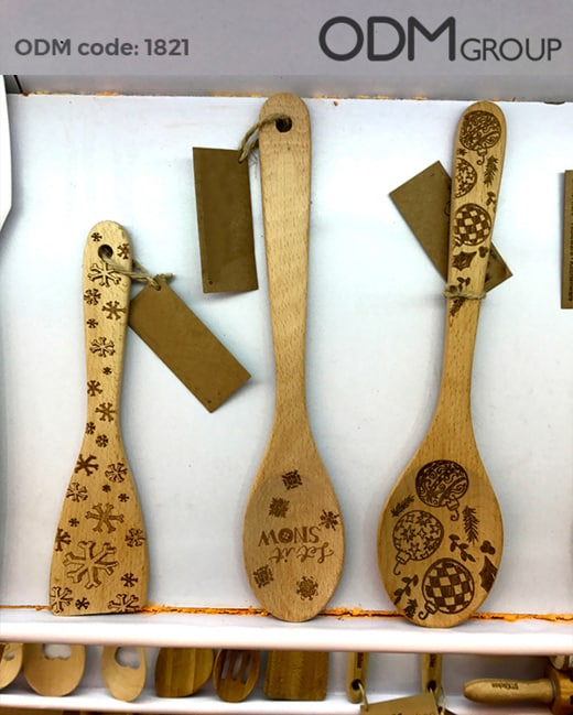Custom Wooden Kitchen Tools - Promo Product Idea