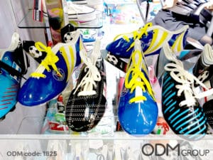 Creative sports promotions – Football shoes and shirt pencil cases