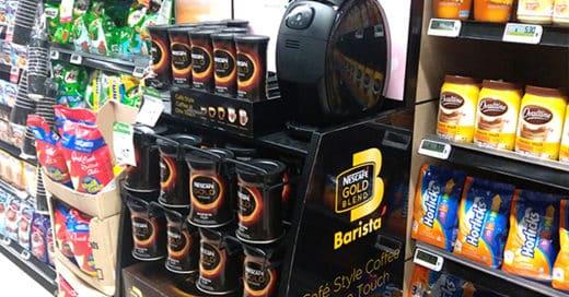 Free Mini Fan Nescafe Gold
