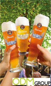 Free personalized glass campaign by Paulaner