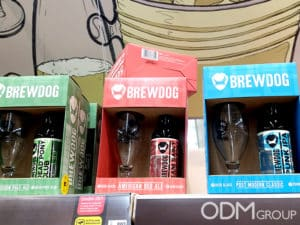 GWP idea from UK - Promotional Beer Glasses for Brewdog