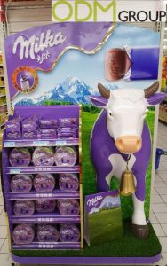In-Store Marketing Milka's Original POS Display