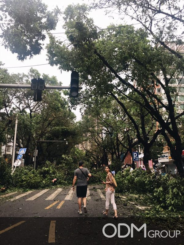 Super Typhoon Hato hits Zhuhai, HK and Macau