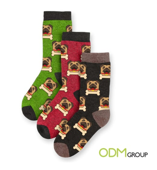 Year of the Pug Socks - A 2018 Gift for Chinese New Year