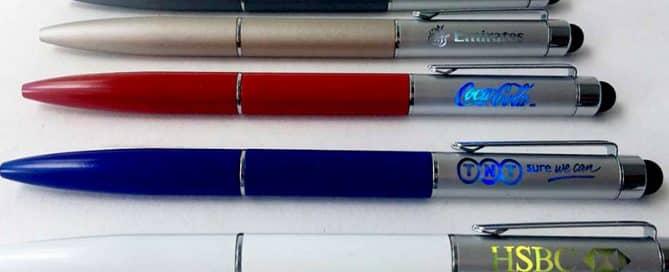 customisable LED light pens