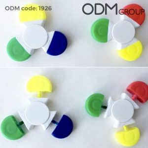 promotional hand spinner highlighters