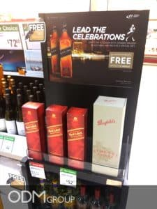 In-Store-GWP in Singapore- Johnnie Walker Strong Marketing