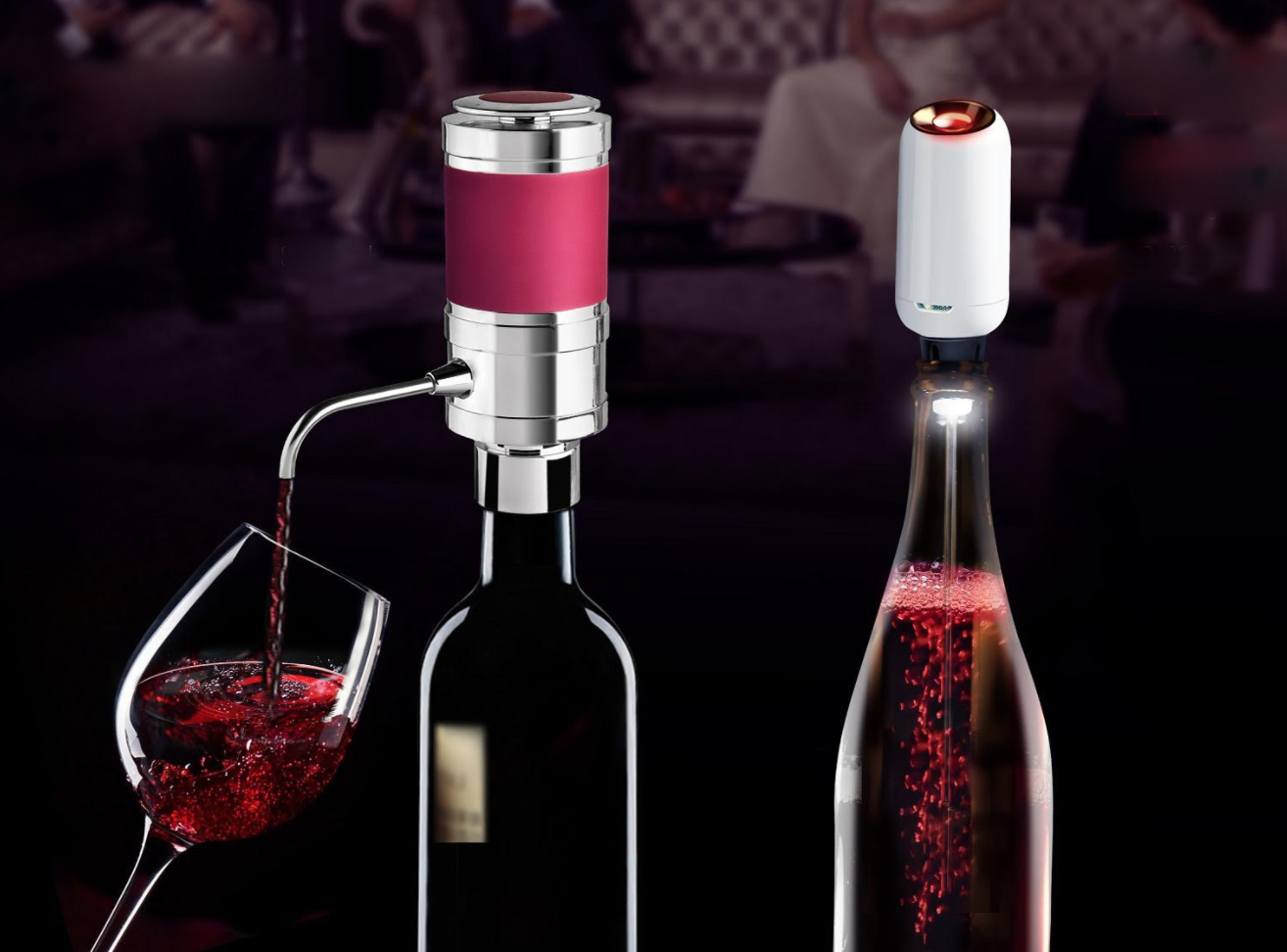 Unique Wine Marketing Gift Electric Wine Aerator