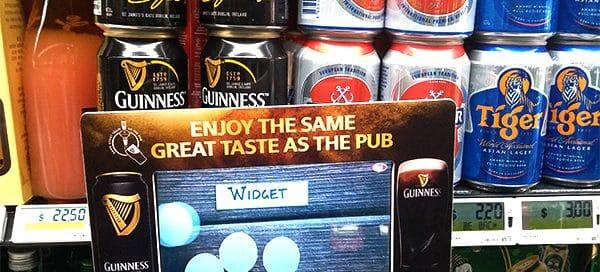 Video Advertising Display - Custom Frame for Guinness Singapore