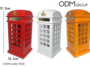 branded money box