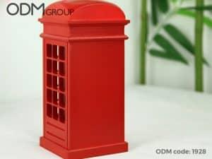 Branded money box