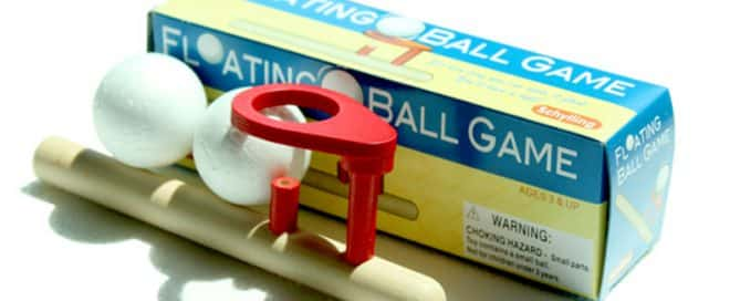 floating ball game
