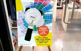 free usb mini fan