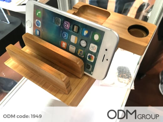 promotional charging dock