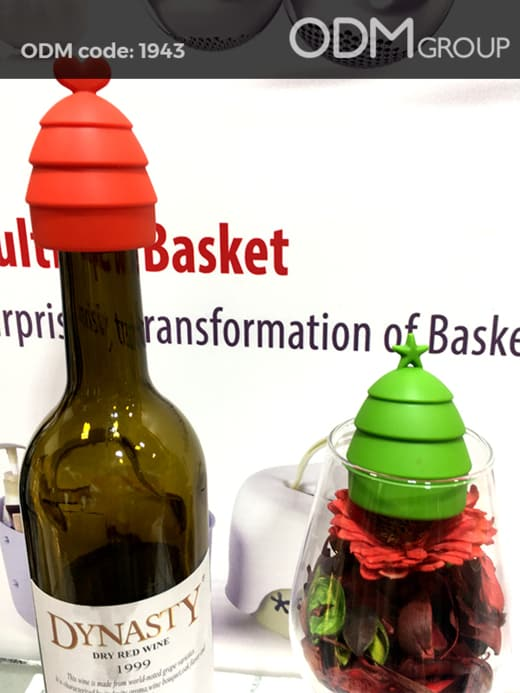promotional wine stopper