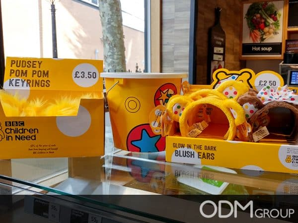 BBC Children In Need Promotes Cause With Meaningful Charity Merchandise
