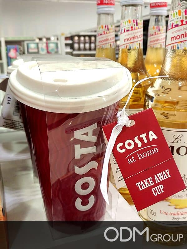 Coffee Shop Merchandise from Costa UK- Ideas to Spark Your Business