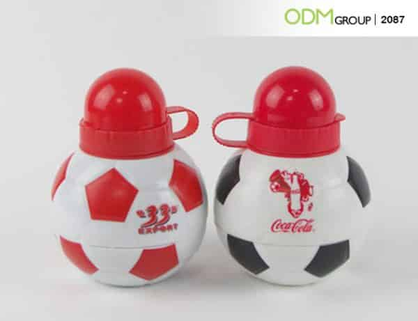 Brilliant Sports Promo Product Idea Soccer Water Bottle