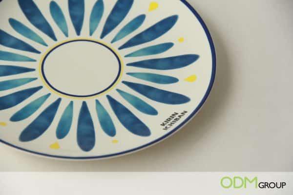 Custom Ceramic Plate as Kirin Beer GWP Practical Gift for Beer Promos