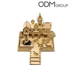 Engage your customers with our customised 3D Puzzles