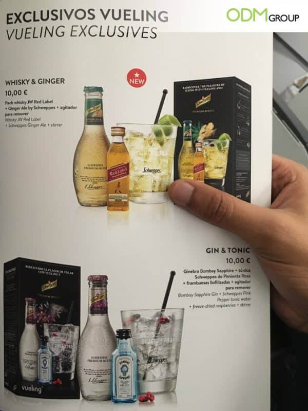 GWP Stirrer - A Premium Promotion from Drink Companies for Airlines