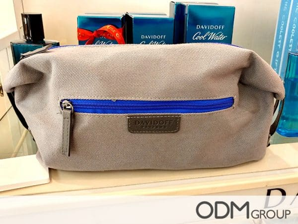 GWP toiletry bag by Davidoff - Why it Works