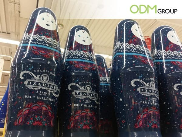 Iconic Wine Packaging Idea by Tsarine