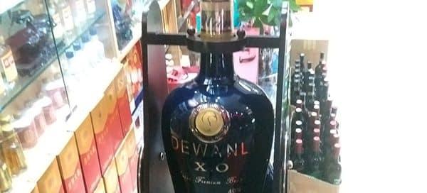 Massive Custom Bottle Cradle - Dewanli's In Store Display Turns Heads