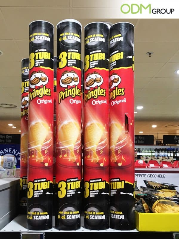 Unique Retail Marketing Idea by Pringles DIY Promotional Speaker