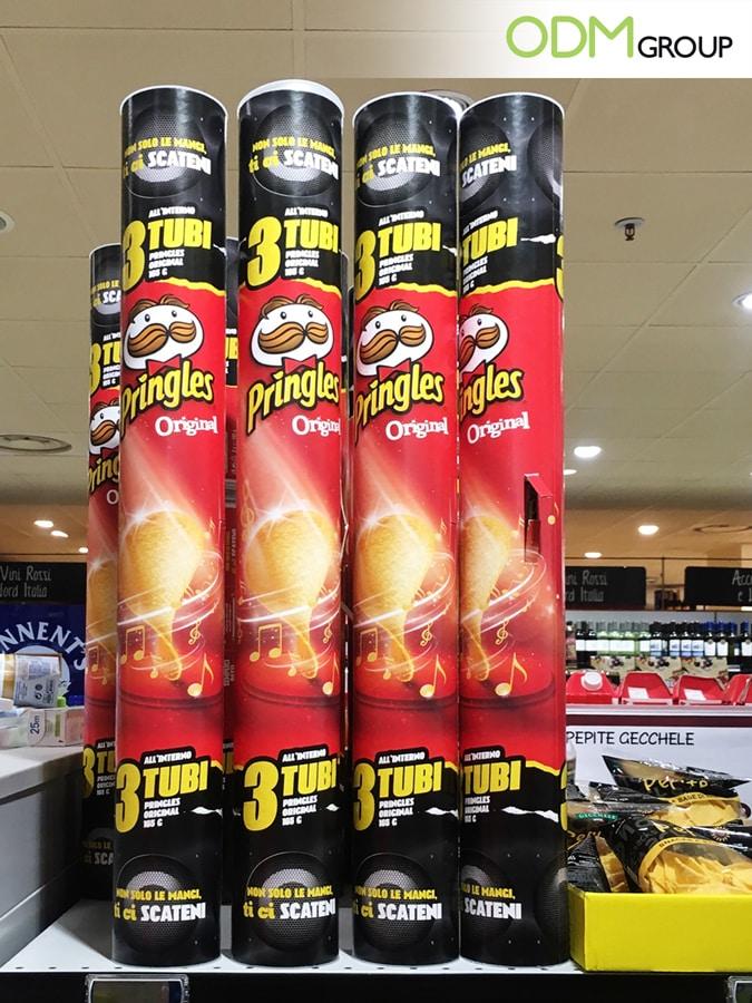 Unique Retail Marketing Idea by Pringles: DIY Promotional