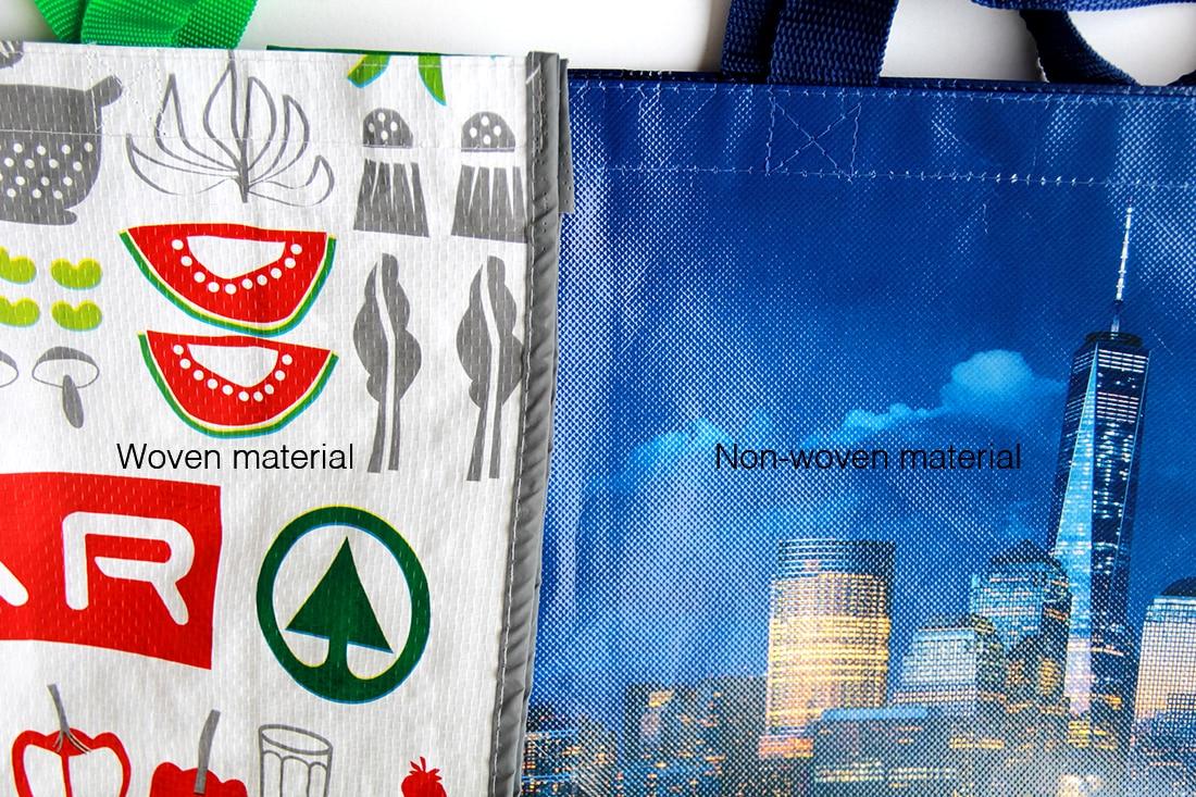 Woven vs Non-Woven Bags
