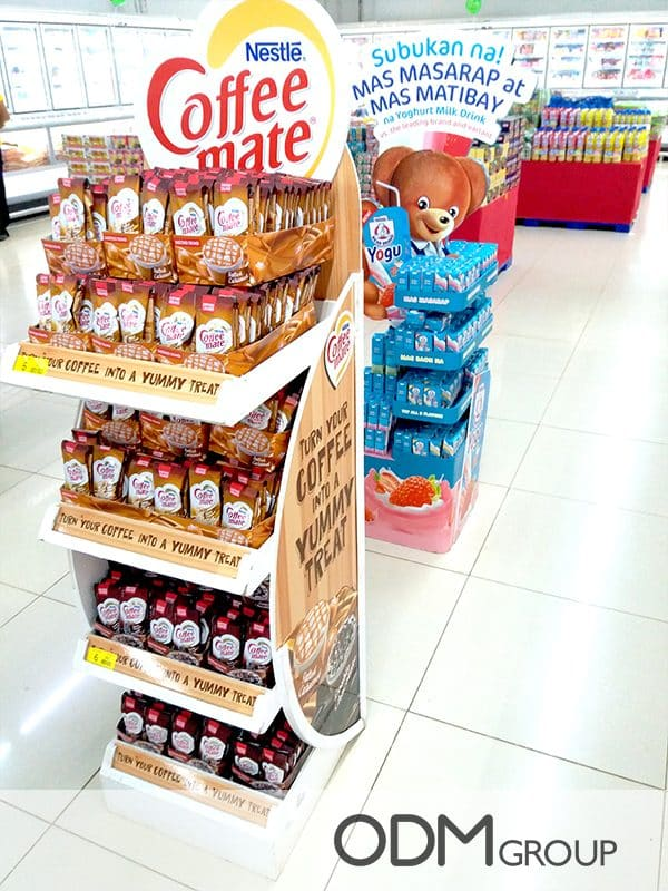 Brand Promotion: Free Standing POS Display by Nestlé