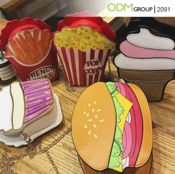 Designing Custom Shaped Bags: Food-Shaped Purse