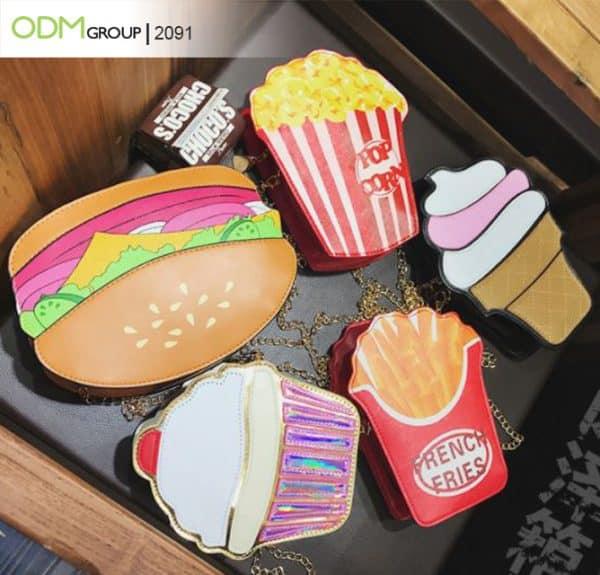 Designing Custom Shaped Bags: Food-Shaped Purse