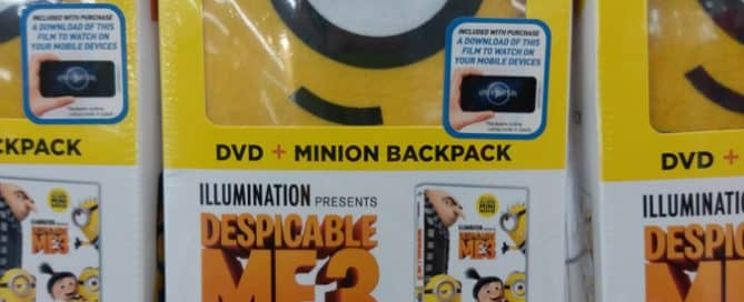 Despicable Me 3 Movie Promo Bag as On-Pack Gift Augments Campaign