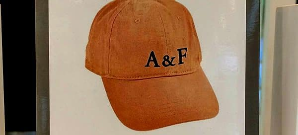 Hats Off to Abercrombie & Fitch UK Gift Idea- Promotional GWP Cap