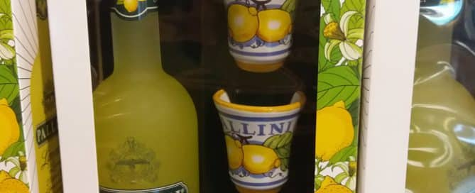 Liquor Promo Gift by Pallini Branded Ceramic Cups Stand Out on Shelves
