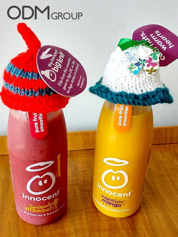 The Innocent Big Knit Woolly Hats- Charity Merchandise Moves People