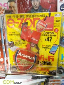 Branded Luggage Tag- E-Zone's Covermount Gift Boosts Exposure