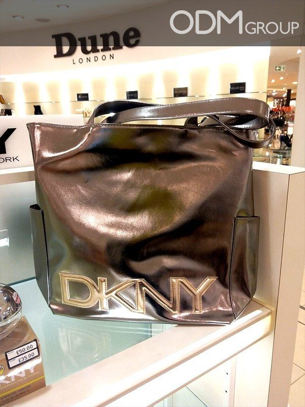 DKNY Promotes Brand with Premium Custom Branded Bag
