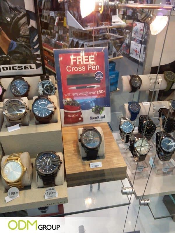 Diesel Customer Incentive Promotional Pen Increasing Brand Awareness