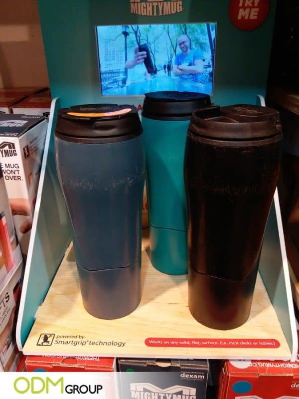 POS Video Display by Mightymug Increasing Brand's Visual Impact