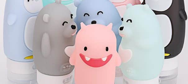 Gain Brand Exposure with Cartoon Shaped Custom Travel Bottles